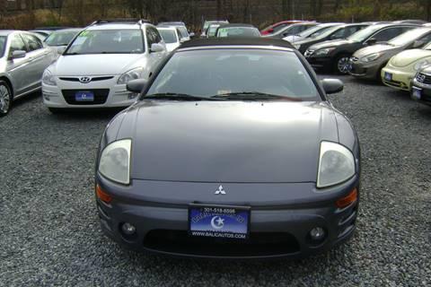 2003 Mitsubishi Eclipse Spyder for sale in Lanham, MD
