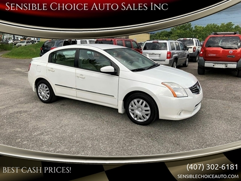 2012 Nissan Sentra for sale at Sensible Choice Auto Sales, Inc. in Longwood FL