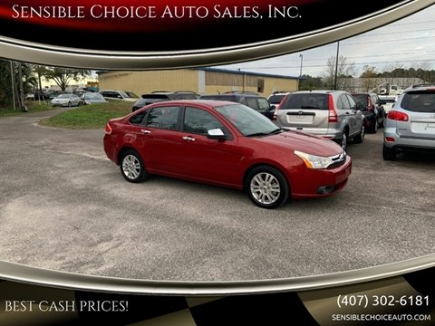 2010 Ford Focus for sale at Sensible Choice Auto Sales, Inc. in Longwood FL