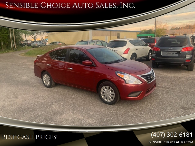 2016 Nissan Versa for sale at Sensible Choice Auto Sales, Inc. in Longwood FL