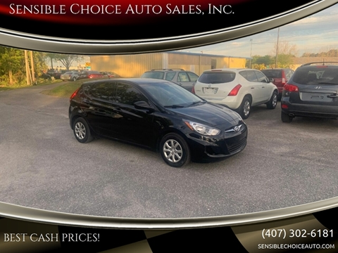 2014 Hyundai Accent for sale at Sensible Choice Auto Sales, Inc. in Longwood FL