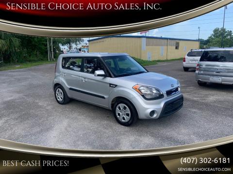 2012 Kia Soul for sale at Sensible Choice Auto Sales, Inc. in Longwood FL