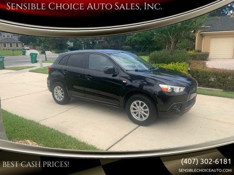 2011 Mitsubishi Outlander Sport for sale at Sensible Choice Auto Sales, Inc. in Longwood FL