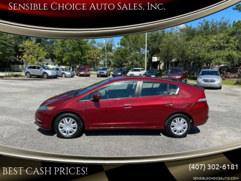 2010 Honda Insight for sale at Sensible Choice Auto Sales, Inc. in Longwood FL