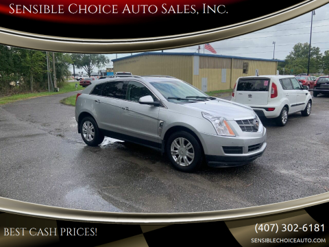 2011 Cadillac SRX for sale at Sensible Choice Auto Sales, Inc. in Longwood FL