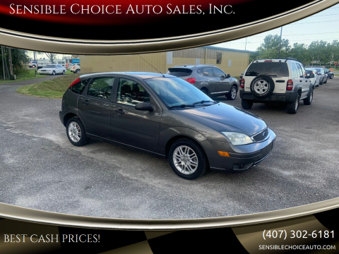 2005 Ford Focus for sale at Sensible Choice Auto Sales, Inc. in Longwood FL