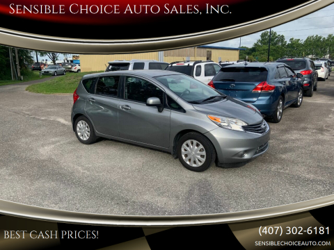 2014 Nissan Versa Note for sale at Sensible Choice Auto Sales, Inc. in Longwood FL