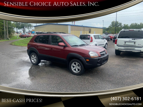 2009 Hyundai Tucson for sale at Sensible Choice Auto Sales, Inc. in Longwood FL