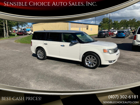 2009 Ford Flex for sale at Sensible Choice Auto Sales, Inc. in Longwood FL
