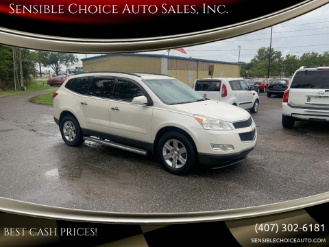 2011 Chevrolet Traverse for sale at Sensible Choice Auto Sales, Inc. in Longwood FL