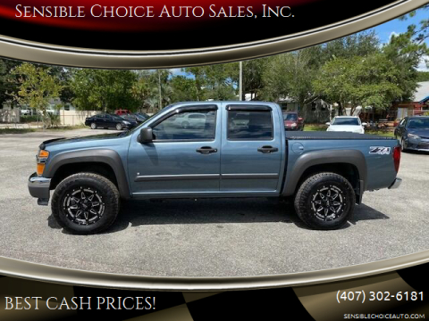 2006 Chevrolet Colorado for sale at Sensible Choice Auto Sales, Inc. in Longwood FL