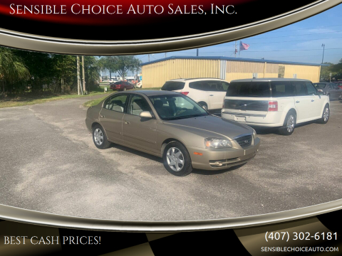 2006 Hyundai Elantra for sale at Sensible Choice Auto Sales, Inc. in Longwood FL