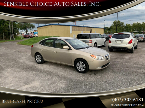 2010 Hyundai Elantra for sale at Sensible Choice Auto Sales, Inc. in Longwood FL