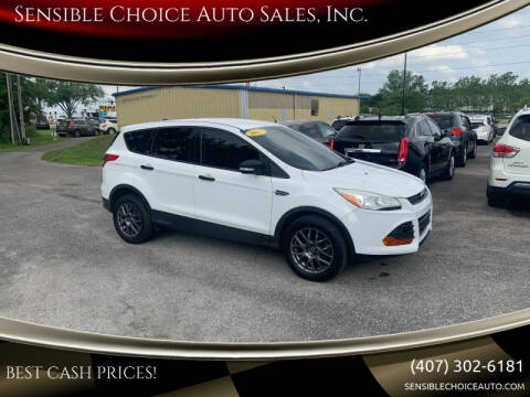 2013 Ford Escape for sale at Sensible Choice Auto Sales, Inc. in Longwood FL