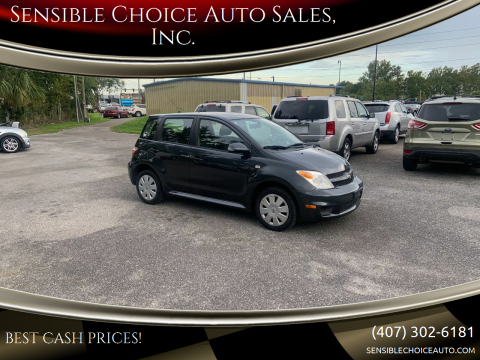 2006 Scion xA for sale at Sensible Choice Auto Sales, Inc. in Longwood FL