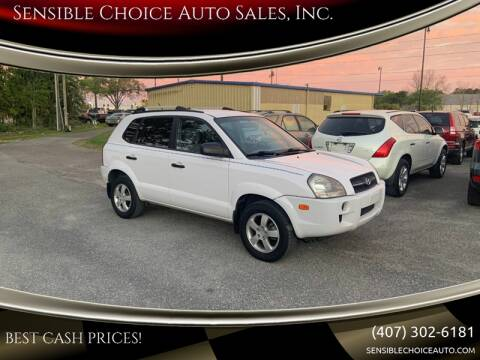 2007 Hyundai Tucson for sale at Sensible Choice Auto Sales, Inc. in Longwood FL