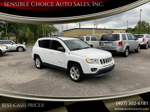 2011 Jeep Compass for sale at Sensible Choice Auto Sales, Inc. in Longwood FL