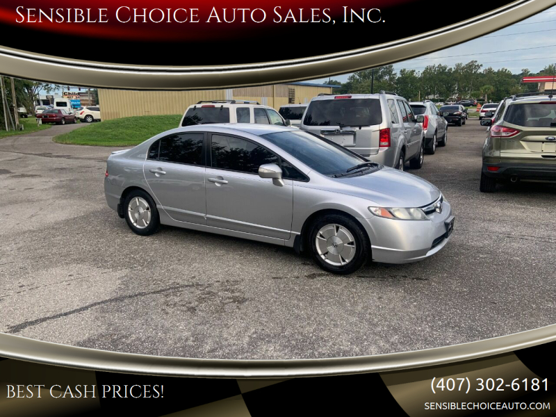 2007 Honda Civic for sale at Sensible Choice Auto Sales, Inc. in Longwood FL