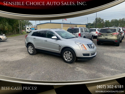 2013 Cadillac SRX for sale at Sensible Choice Auto Sales, Inc. in Longwood FL