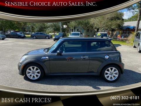 2013 MINI Hardtop for sale at Sensible Choice Auto Sales, Inc. in Longwood FL