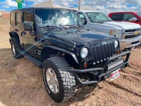 2012 Jeep Wrangler Unlimited Sport for sale at Chadron GMC Chrysler Dodge Jeep RAM in Chadron NE