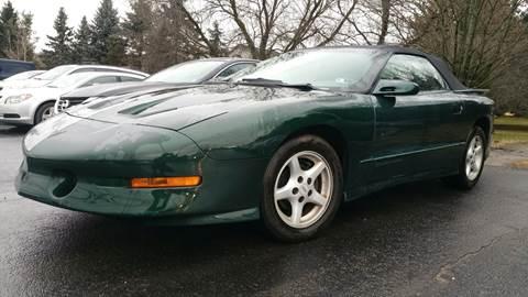 1995 Pontiac Firebird for sale in Mansfield, PA