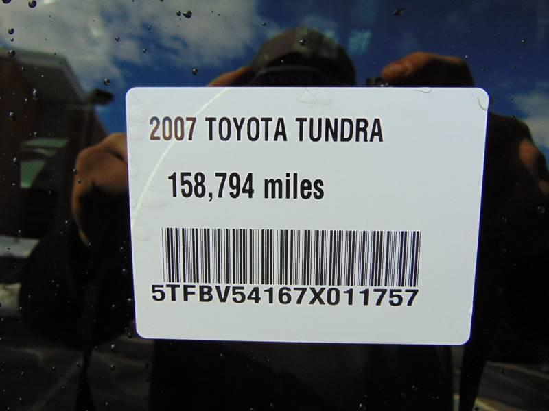 2007 Toyota Tundra SR5 4dr Double Cab 4WD SB (5 7L V8) In