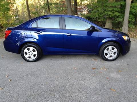 2014 Chevrolet Sonic for sale in Fruitport, MI