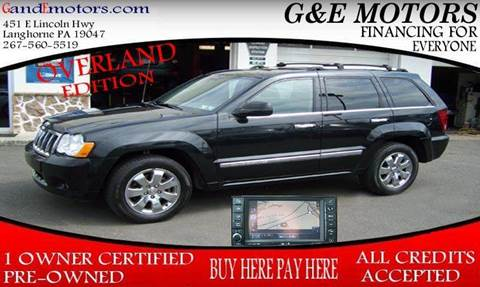 2009 Jeep Grand Cherokee for sale in Langhorne, PA