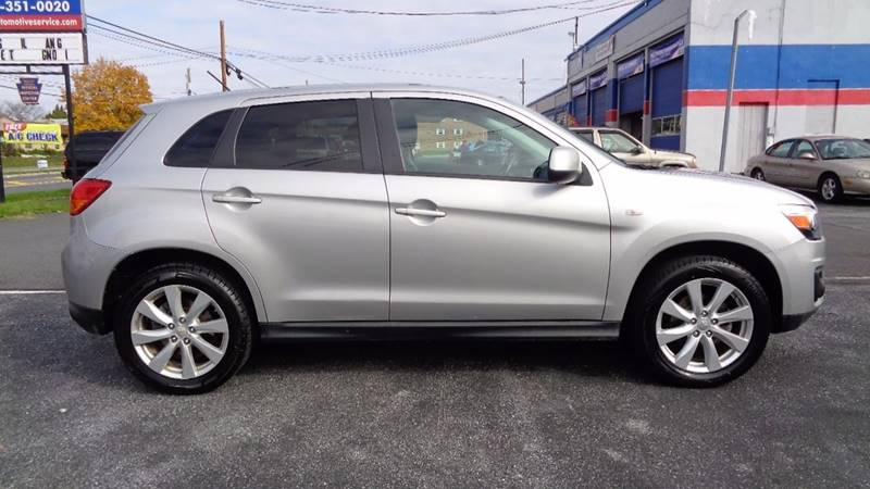 2014 mitsubishi outlander sport for sale at east coast car mart in allentown pa