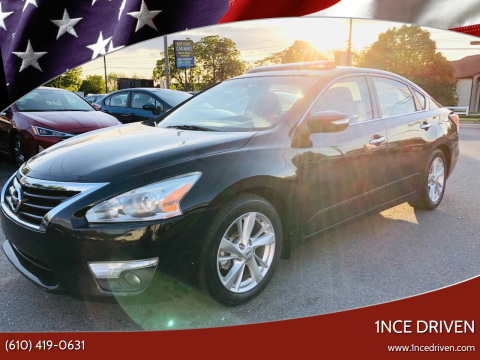 2015 Nissan Altima for sale at 1NCE DRIVEN in Easton PA