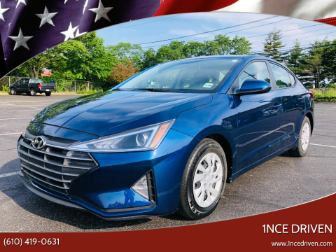 2019 Hyundai Elantra for sale at 1NCE DRIVEN in Easton PA