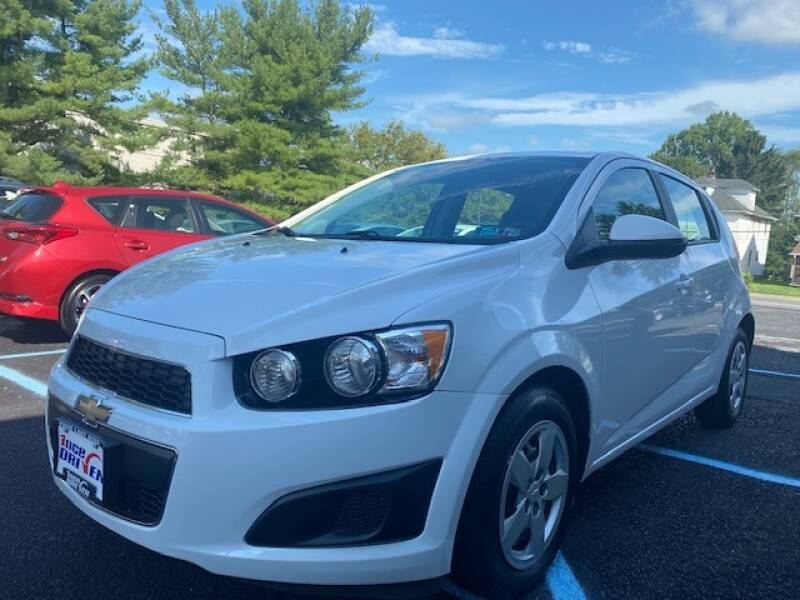 2015 Chevrolet Sonic for sale at 1NCE DRIVEN in Easton PA