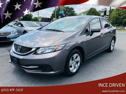 2015 Honda Civic for sale at 1NCE DRIVEN in Easton PA