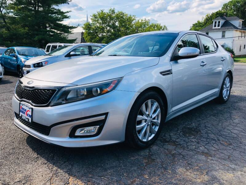 2015 Kia Optima for sale at 1NCE DRIVEN in Easton PA