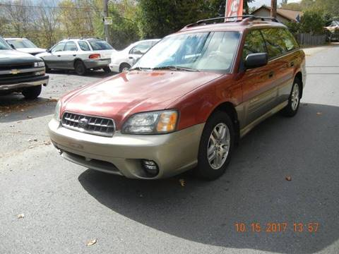 2004 Subaru Outback for sale at STURBRIDGE CAR SERVICE CO in Sturbridge MA