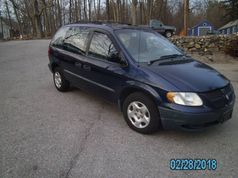 2002 Dodge Caravan for sale at STURBRIDGE CAR SERVICE CO in Sturbridge MA