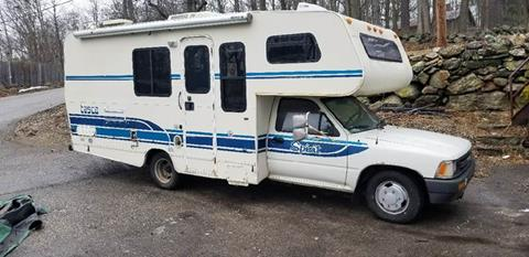 1990 Toyota Motorhome for sale at STURBRIDGE CAR SERVICE CO in Sturbridge MA