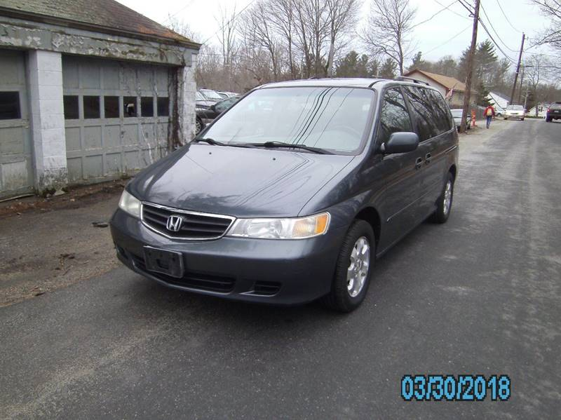 2003 Honda Odyssey for sale at STURBRIDGE CAR SERVICE CO in Sturbridge MA