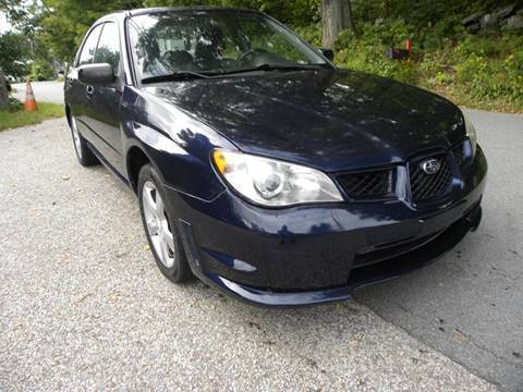 2006 Subaru Impreza for sale at STURBRIDGE CAR SERVICE CO in Sturbridge MA