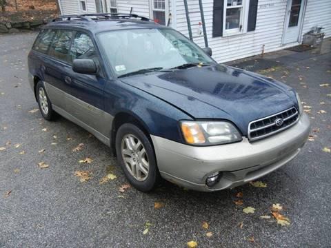 2002 Subaru Outback for sale in Sturbridge, MA