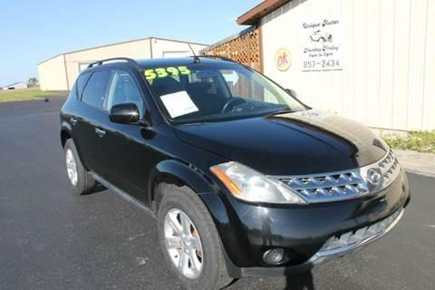 2006 Nissan Murano for sale in Ridgeville, IN