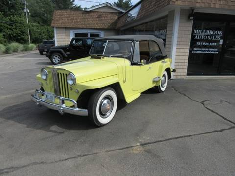 1948 Willys Jeepster for sale in Duxbury, MA