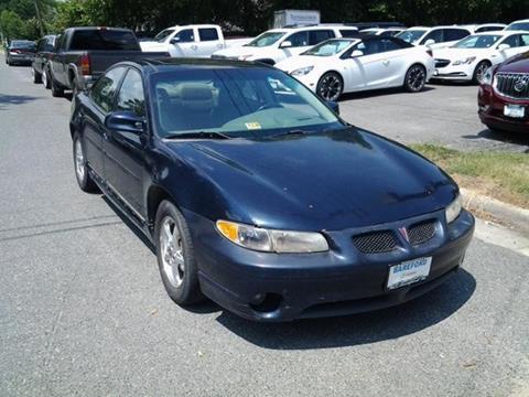 2003 Pontiac Grand Prix for sale in Tappahannock, VA