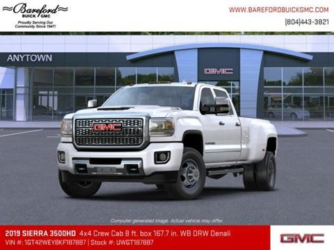 2019 GMC Sierra 3500HD for sale in Tappahannock, VA