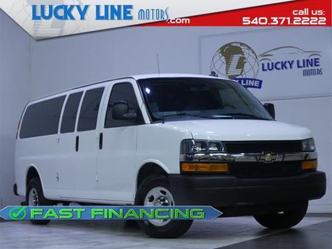 2016 Chevrolet Express Passenger for sale in Fredericksburg, VA
