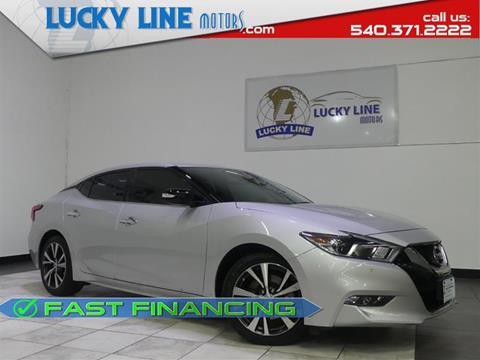 2017 Nissan Maxima for sale in Fredericksburg, VA