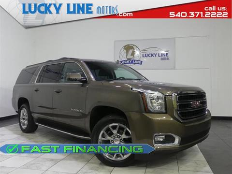 2015 GMC Yukon XL for sale in Fredericksburg, VA