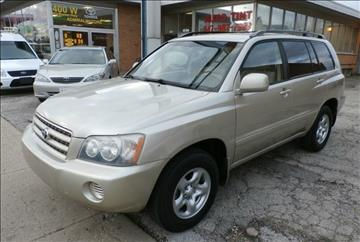 2003 Toyota Highlander for sale in Arlington Heights, IL