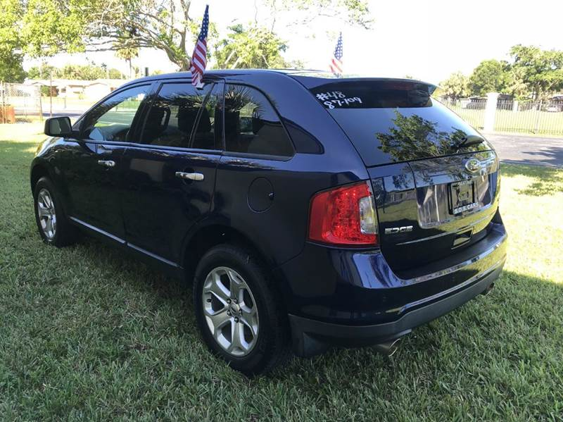 2011 FORD EDGE LIMITED AWD 4DR CROSSOVER blue 2011 ford edge   4dr crossover sport this vehicle i